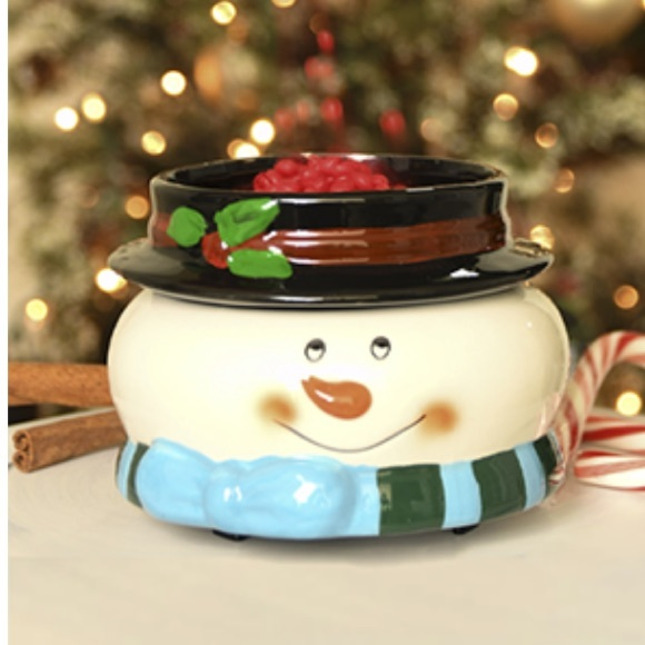 Mr Snowman Simmer Pot